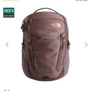 North Face Women's Surge Luxe Backpack (like new)